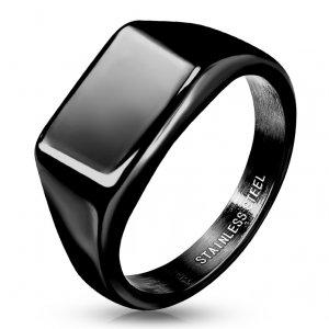 Ocelový pánský prsten RMHBJ-117685-K