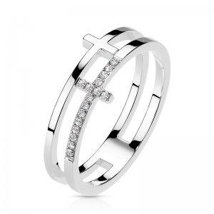 Ocelový prsten RMHBJ-117721-ST