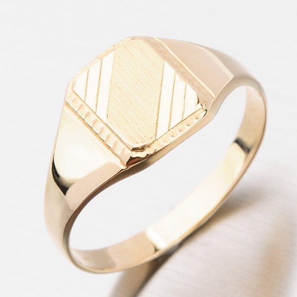 Zlatý pánský prsten 141P-110248