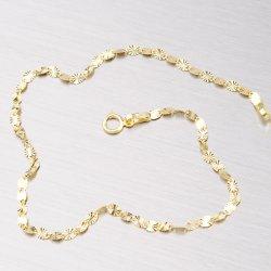 Zlatý náramek s gravírováním 44-1510