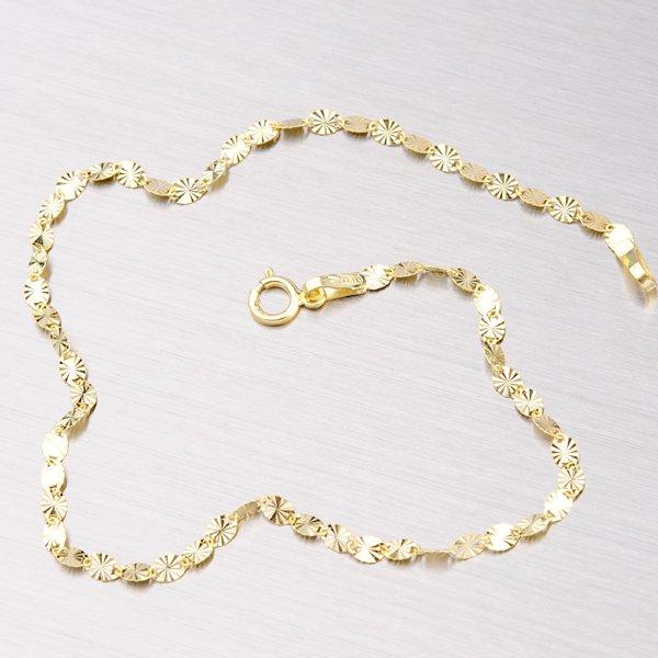 48074bf76 Zlatý náramek s gravírováním 44-1510 : Goldex.cz