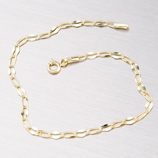 Náramek ze žlutého zlata 44-1148