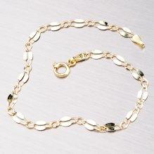 Náramek ze žlutého zlata 44-1462