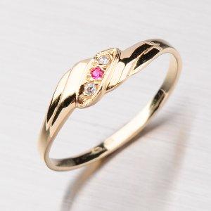 Klasický prsten ze zlata 451-0501-04