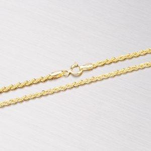 Zlatý dutý řetízek - Valis 45-1359