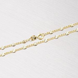 Ozdobný zlatý řetízek 45-1237