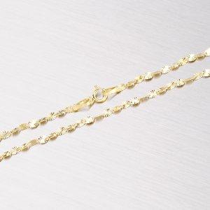Zlatý řetízek s gravírováním 45-1510