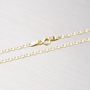Zlatý řetízek s gravírováním 45-1408