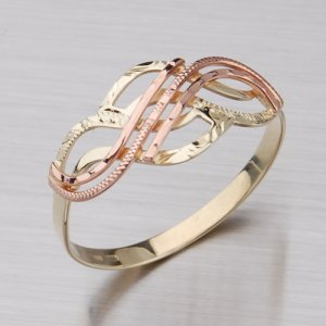 Prsten ze zlata 51P-444