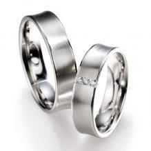 Snubní prsteny s diamanty SP516 SP516