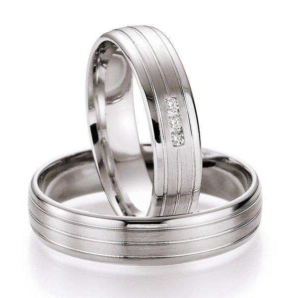 Snubní prsteny s diamanty SP-524