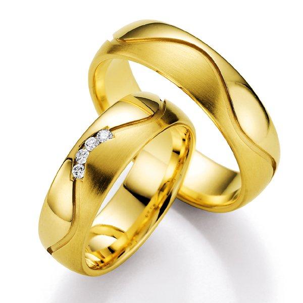 Snubní prsteny s diamantem SP-525