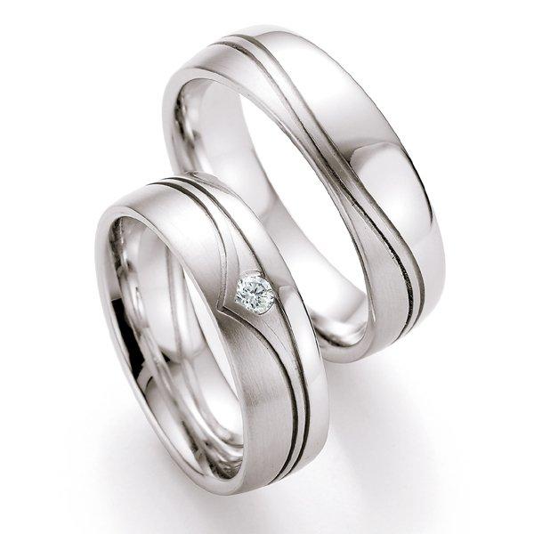 Snubní prsteny s diamantem SP-520