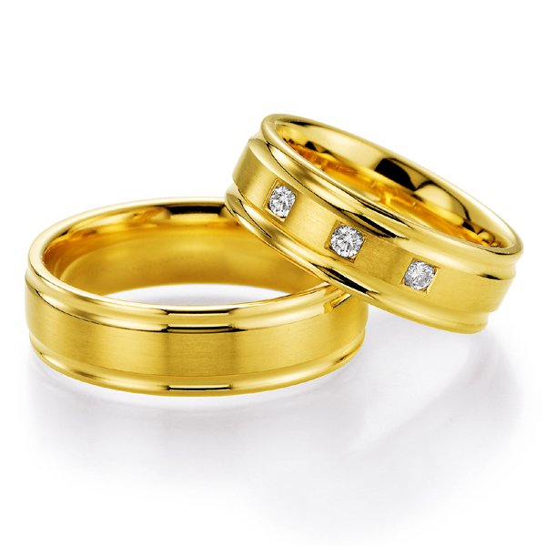 Snubní prsteny s diamantem SP-521