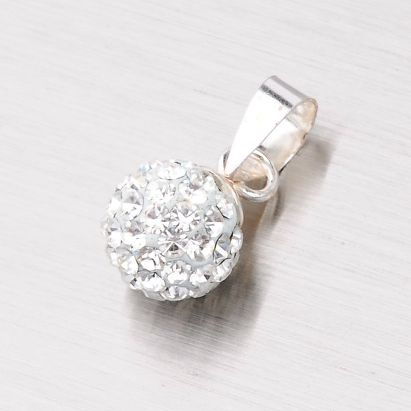 Přívěsek kulička s krystaly 54065