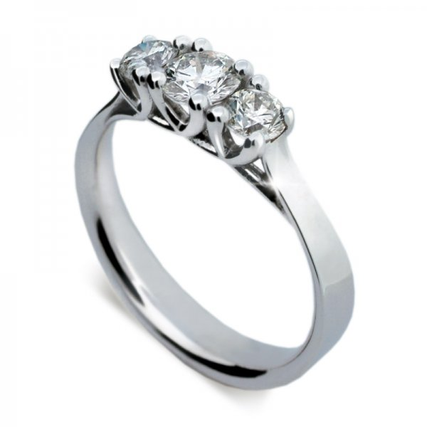 Dámský prsten s diamanty DF1924