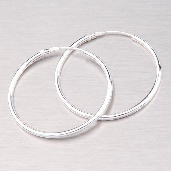 Stříbrné kruhy 28 mm 6183-28