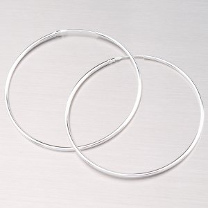 Stříbrné kruhy 45 mm M6185
