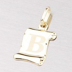 Zlatý přívěsek - písmenko B 43-2064B