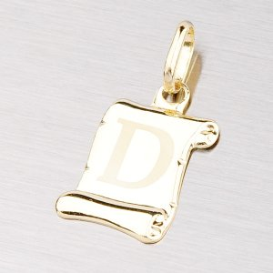 Zlatý přívěsek - písmenko D 43-2064D