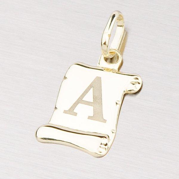 Zlatý přívěsek - písmenko A 43-2064A