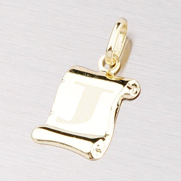 Zlatý přívěsek - písmenko J 43-2064J
