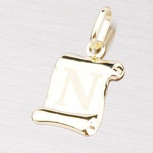 Zlatý přívěsek - písmenko N 43-2064N