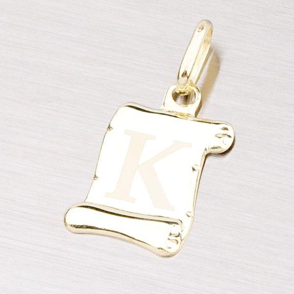 Zlatý přívěsek - písmenko K 43-2064K
