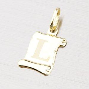 Zlatý přívěsek - písmenko L 43-2064L