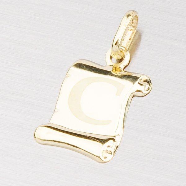 Zlatý přívěsek - písmenko C 43-2064C