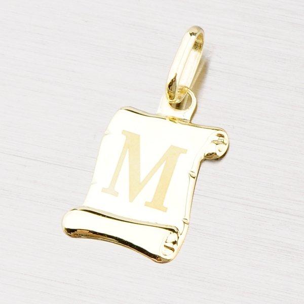 Zlatý přívěsek - písmenko M 43-2064M