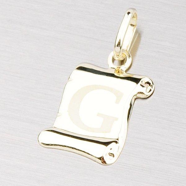 Zlatý přívěsek - písmenko G 43-2064G