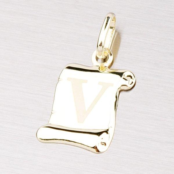 Zlatý přívěsek - písmenko V 43-2064V