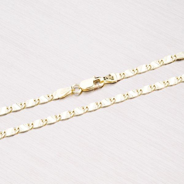 Zlatý řetízek - Plošky 45-1101