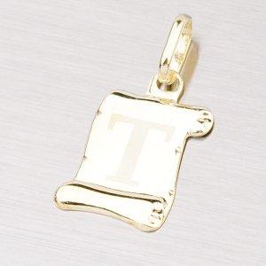 Zlatý přívěsek - písmenko T 43-2064T