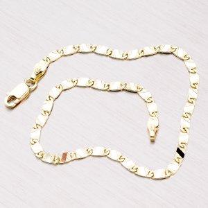 Zlatý náramek - Plošky 44-1101