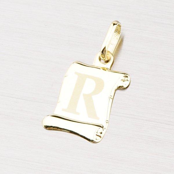 Zlatý přívěsek - písmenko R 43-2064R