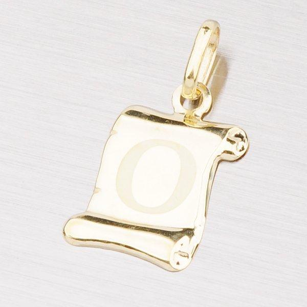 Zlatý přívěsek - písmenko O 43-2064O