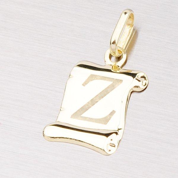 Zlatý přívěsek - písmenko Z 43-2064Z
