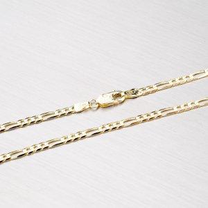 Zlatý řetízek - Figaro 3+1 45-1115