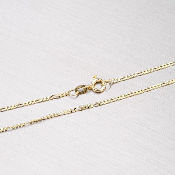 Zlatý řetízek - Figaro 3+1 45-1106