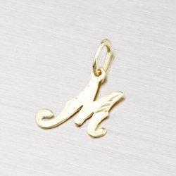 Zlatý přívěsek - písmenko M 2-4002-M