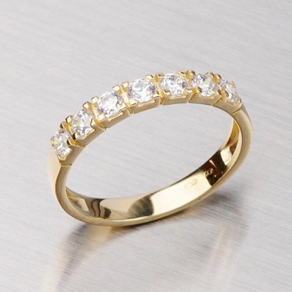 Prsten ze žlutého zlata 681-0078
