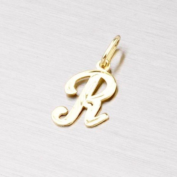 Zlatý přívěsek - písmenko R 2-4002-R