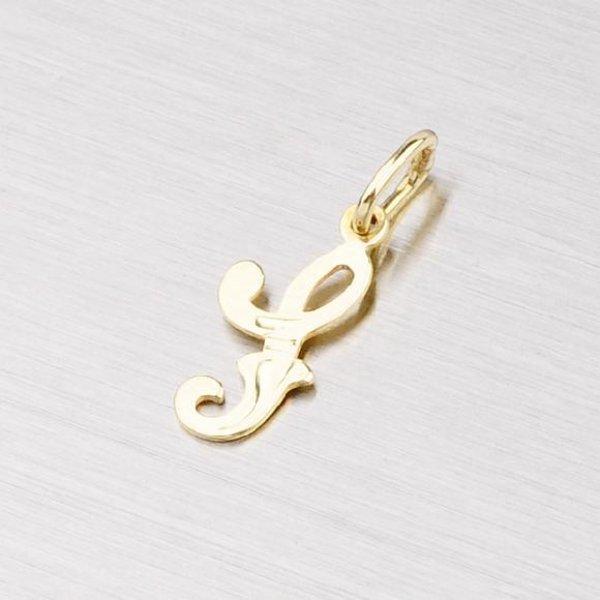 Zlatý přívěsek - písmenko S 2-4002-S