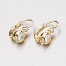 Zlaté náušnice 683-0001