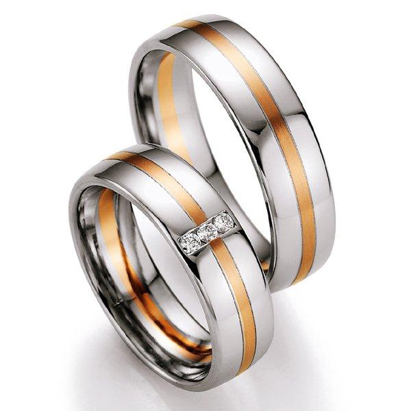 Snubní prsteny s diamanty SP707 SP707