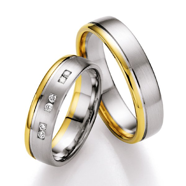 Snubní prsteny s diamanty SP-705