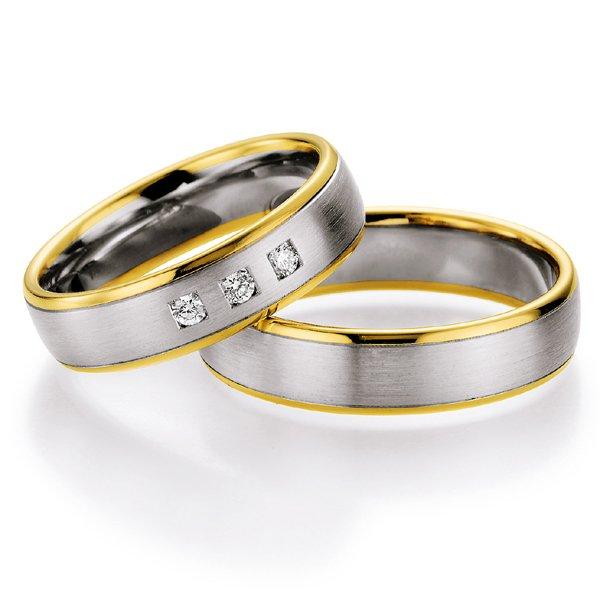 Snubní prsteny s diamanty SP-703