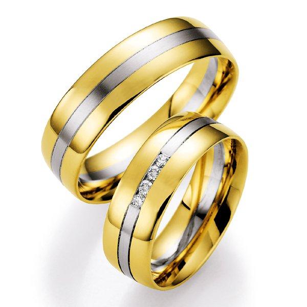 Snubní prsteny s diamanty SP-700